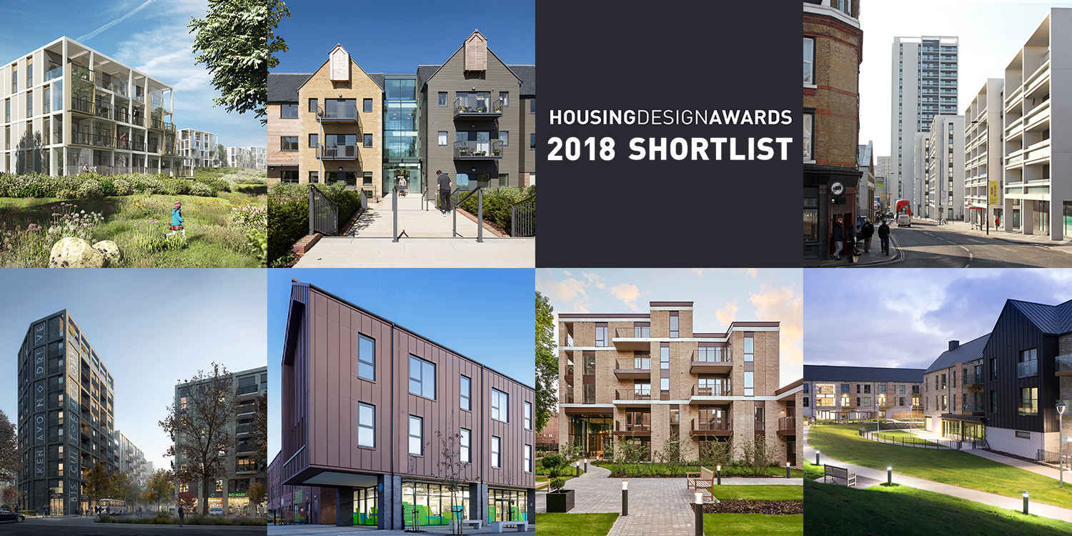 Seven Prp Projects Shortlisted For A Housing Design Award